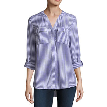cf8b92a84118f A.n.a Long Sleeve Tops for Women - JCPenney