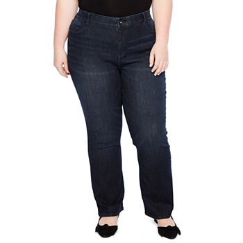 f0b49153742 Liz Claiborne Plus Size Jeans for Women - JCPenney
