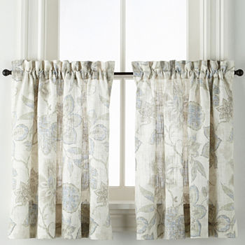 24 Inch Blue Curtains D For