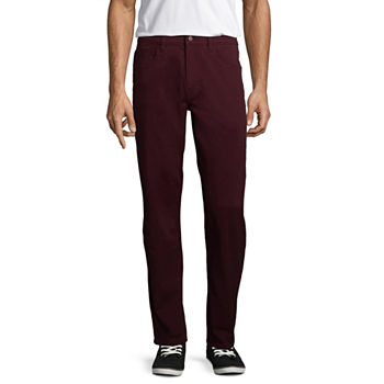 St. John's Bay Stretch Straight Fit 5 Pocket Pants