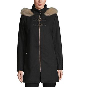 277f74eaa00 Peacoats Black Coats   Jackets for Women - JCPenney