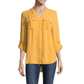 Misses Size Yellow Tops For Women Jcpenney