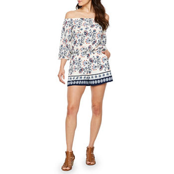 e3fb73926dd 3 4 Sleeve Multi Jumpsuits   Rompers for Women - JCPenney