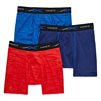 Hanes Little & Big Boys 3 Pack Boxer Briefs