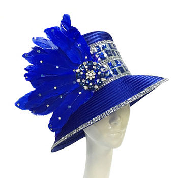 79d8a0f4e9f Whittall   Shon Blue Hats for Handbags   Accessories - JCPenney
