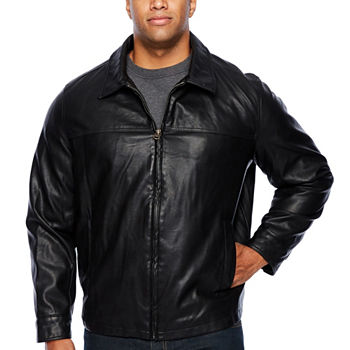 b06daa67cee Big Tall Size Faux Leather Coats   Jackets for Men - JCPenney