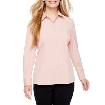 Clearance Button Front Shirts Tops For Women Jcpenney