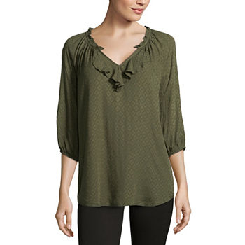 778a9cf43e2 Peasant Tops Tops for Women - JCPenney