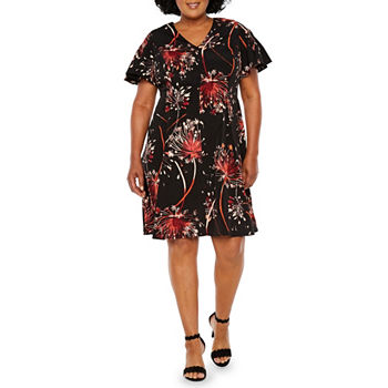 London Times Plus Size Dresses For Women Jcpenney