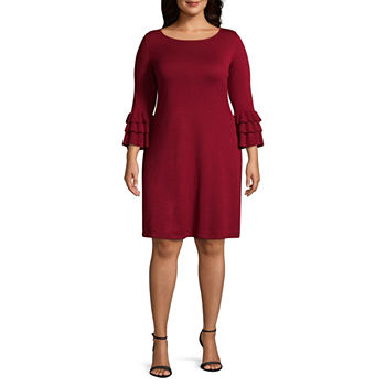 Plus Size Sweater Dresses Dresses for Women - JCPenney