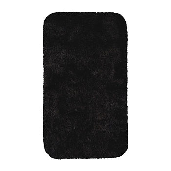 bathroom rugs & bath mats black