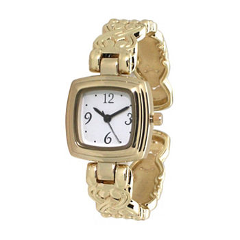 Olivia Pratt Womens Gold Tone Bracelet Watch - A917574gold