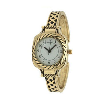 Olivia Pratt Womens Gold Tone Bracelet Watch - A917571gold