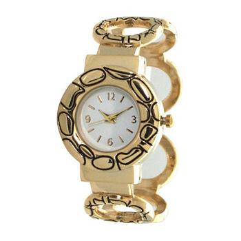 Olivia Pratt Womens Gold Tone Bracelet Watch - A916978gold