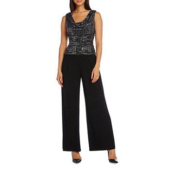 b4329d4edd6 Perceptions Sleeveless Multi Stripe Jumpsuit. Add To Cart. Black.  55.99