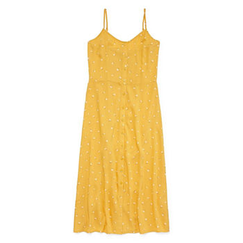Floral Yellow Dresses For Women