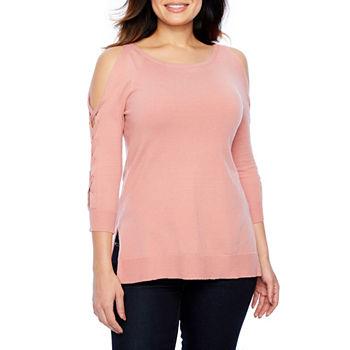 55e5b3e4c1648c Pink Tops for Women - JCPenney