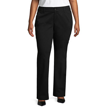 34893219ae Juniors Plus Size Mid Rise Pants for Juniors - JCPenney