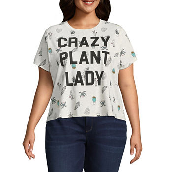 d9aba2c4532 CLEARANCE Graphic T-shirts Tops for Women - JCPenney