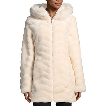 13748a450 Faux Fur Hooded Coats   Jackets for Women - JCPenney