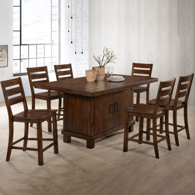 counter height dining room tables for the home jcpenneysimmons® englewood counter height gathering table