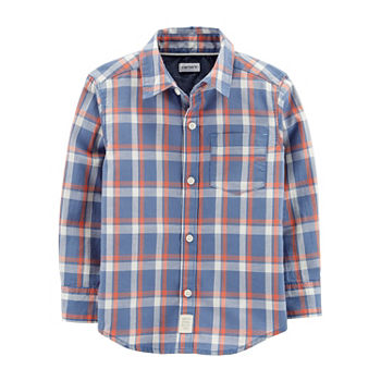 eb2125a0 Button-front Shirts Shop All Boys for Kids - JCPenney