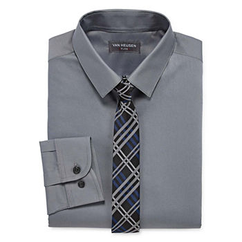 ce84c6fa182f Van Heusen Nicklas Clip-On Tie - Boys. Add To Cart. Few Left. husky size  available