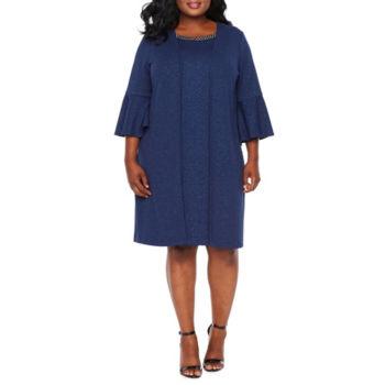 Plus Size Blue Church Dresses For Women Jcpenney