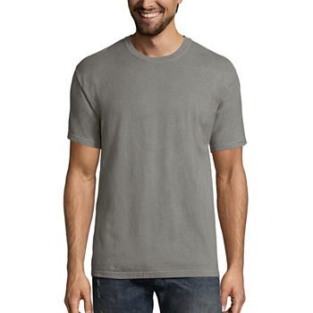 Hanes Men's ComfortWash Garment-Dyed Short Sleeve Tee
