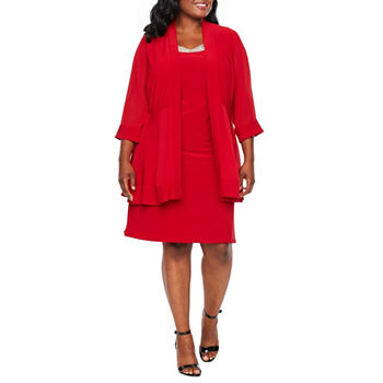 Plus Size Red Dresses For Women Jcpenney