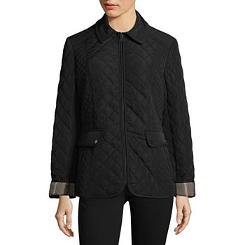f774a5005bbb5 Liz Claiborne Quilted Coats   Jackets for Women - JCPenney
