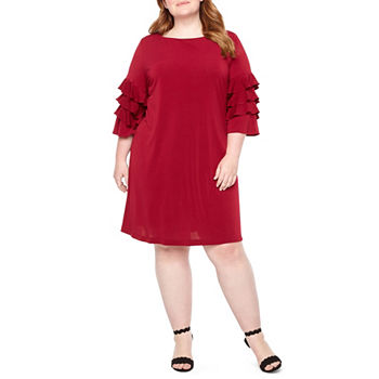 Plus Size Tiered Dresses For Women Jcpenney