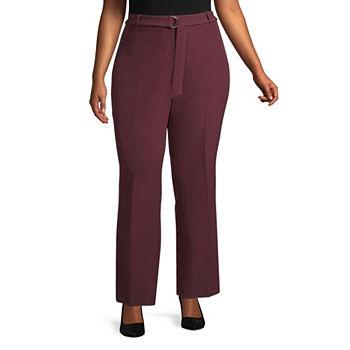 7a3fdd72d5158 Plus Size Purple Pants for Women - JCPenney