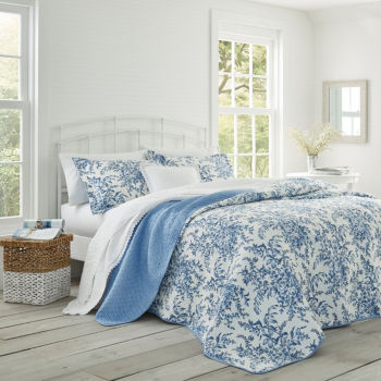 Laura Ashley Queen Comforters Bedding Sets For Bed Bath Jcpenney