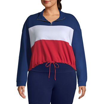 0c82b478 Juniors Plus Size French Terry Activewear for Women - JCPenney