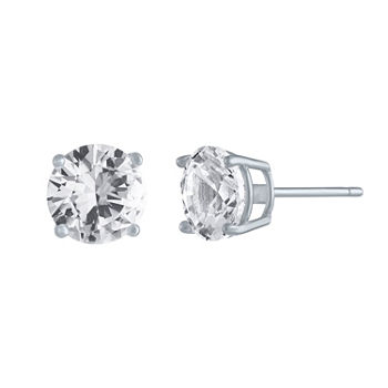 ac84f5e33 T.W. Lab-Created White Sapphire Stud Earrings in Sterling Silver ONLY $10  (Reg $50)