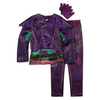 Disney 4-pc  Descendants Dress Up Costume Girls