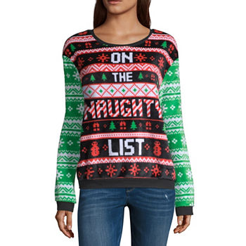 christmas shirts + tops - juniors - Christmas Shirts + Tops For Juniors - JCPenney