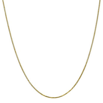 2212f92f79157 10K Gold Solid Box Chain Necklace. Add To Cart. No Color. from 299.99