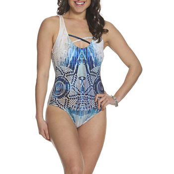 3053828f007 One Piece Swimsuits Women s Plus Size for Women - JCPenney