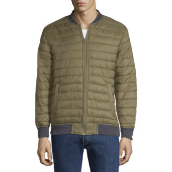 Bomber Jacket Mens Leather Bomber Jackets Jcpenney