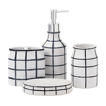 Black Bathroom Accessories for Bed & Bath - JCPenney