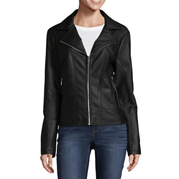 2b452e46390 A.n.a Faux Leather Coats   Jackets for Women - JCPenney