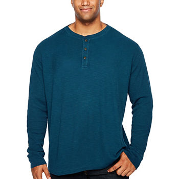 e931e5b26d6b4f The Foundry Big   Tall Supply Co. Henley Shirts for Men - JCPenney