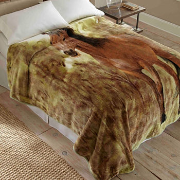 Micro Flannel Throws Blankets & Throws for Bed & Bath - JCPenney