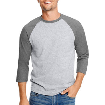 3 4 Sleeve Shirts Tops Workout Clothes For Men Jcpenney