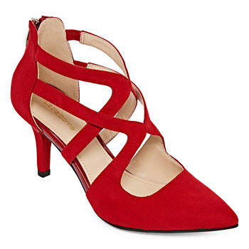 73e011119aab Liz Claiborne Red Women s Pumps   Heels for Shoes - JCPenney