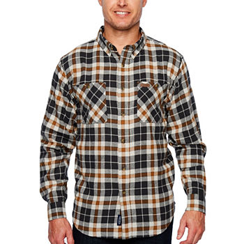4e6fcc5bd Mens Flannel Shirts Closeouts for Clearance - JCPenney
