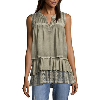05293138fef07f Casual Blouses Tops for Women - JCPenney