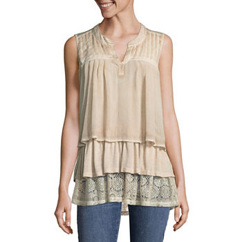 Womens Shirts Tops Blouses Casual Tops Jcpenney